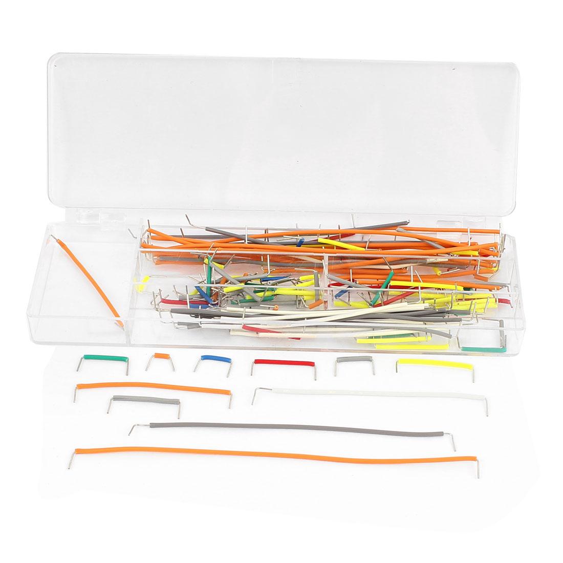 140 in 1 Solderless Breadboard Board Jumper Cable Wire Kit Set