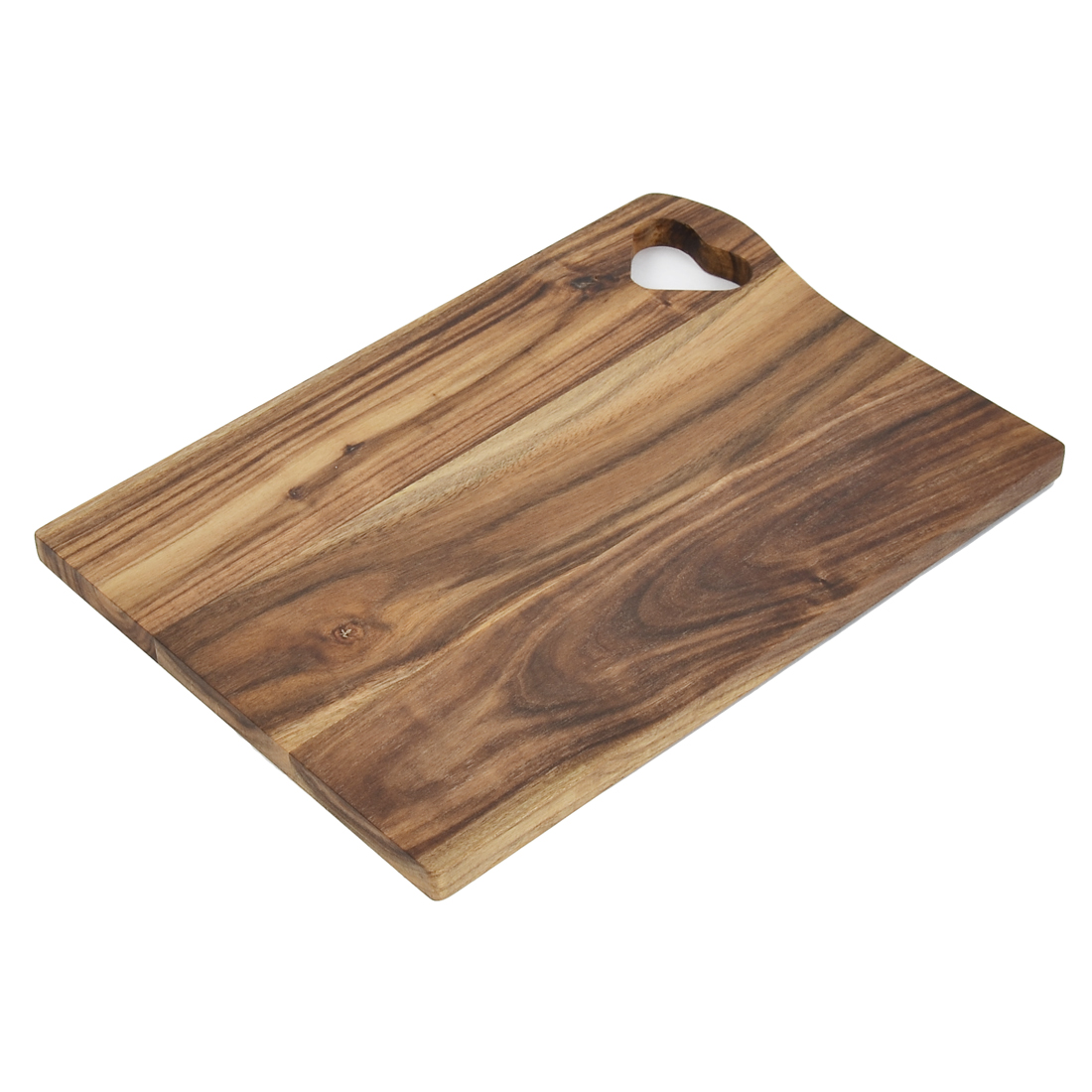 Kitchen Pizza Bread Wooden Heart Hollow-out Design Cutting Chopping Board
