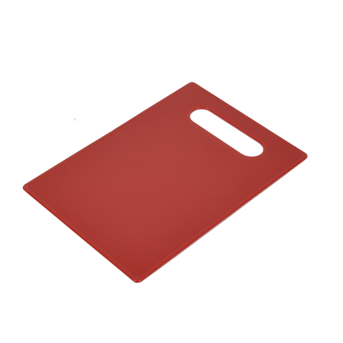 Kitchen Plastic Nonslip Heat Resistant Chopping Cutting Slicing Board Red