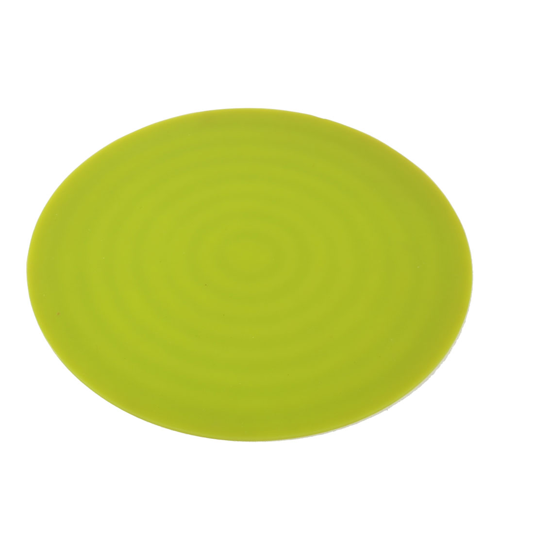 Table Bowl Cup Pot Rubber Round Shaped Heat Insulation Mat Pad Holder Green