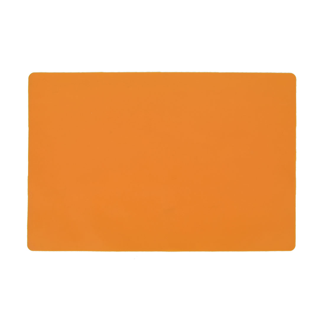 Tableware Pot Pan Rubber Heat Insulation Washable Pad Placemat Mat Orange
