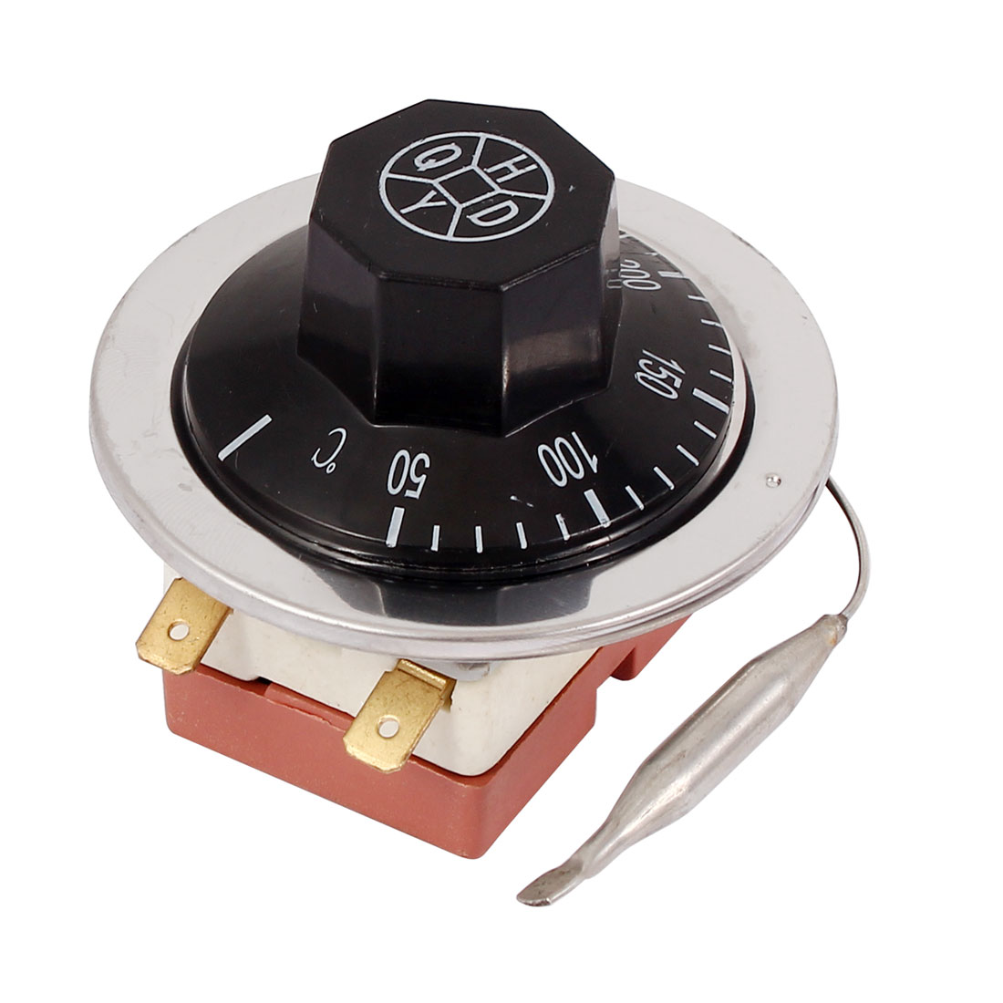 AC 250V 16A 50-300 Celsius Detection 2 Terminals Temperature Control Switch Thermostat
