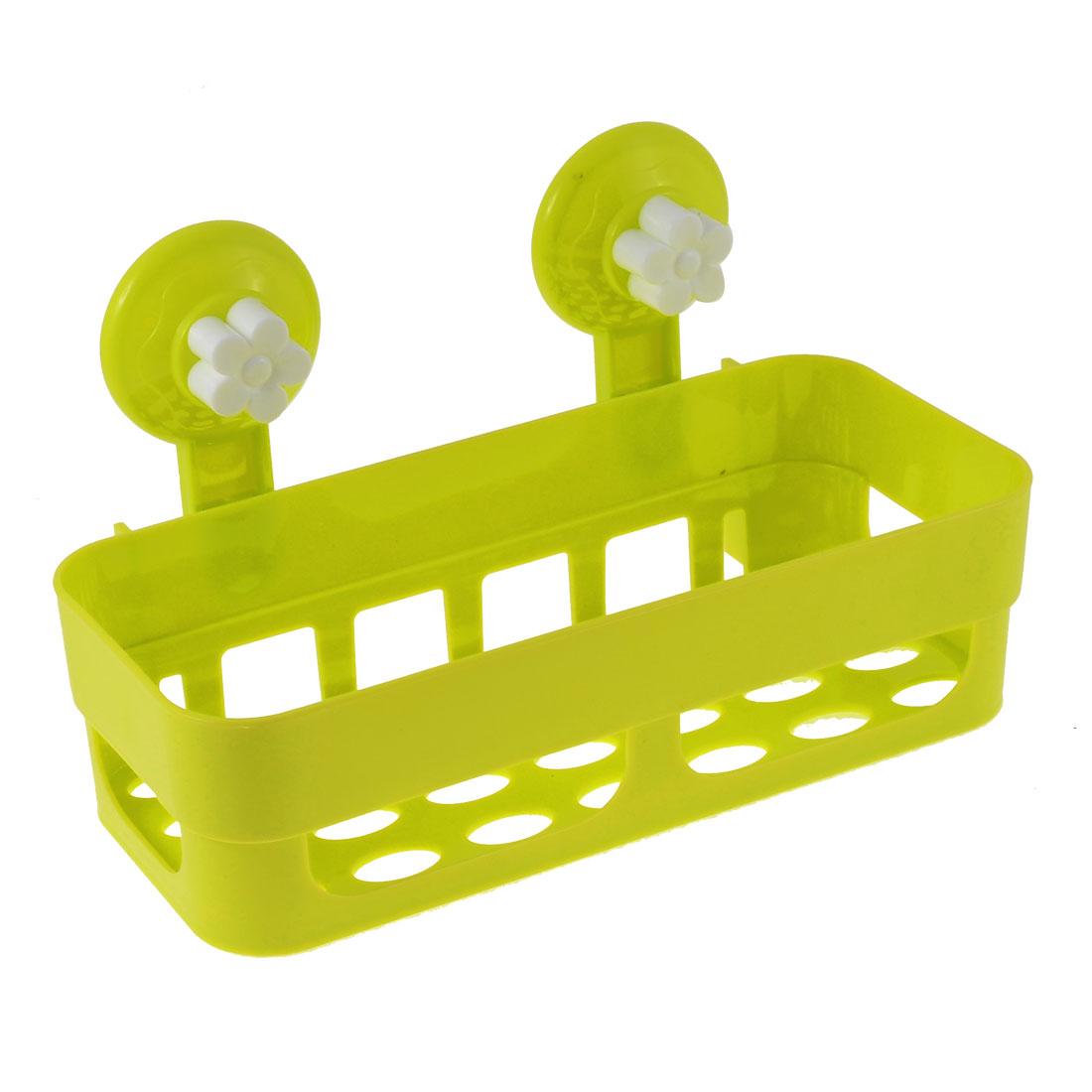 ABS Plastic Shelf Bathroom Toiletry Storage Holder Accessories Yellow Green White