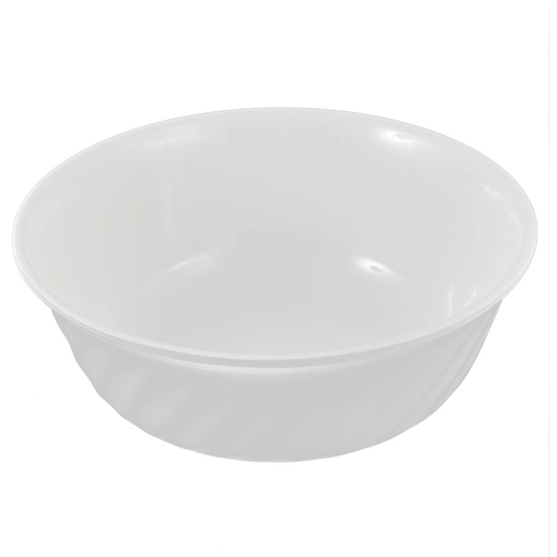 "Home Restaurant Kitchen Party Salad Rice Soup Serving Bowl White 8"" Dia"