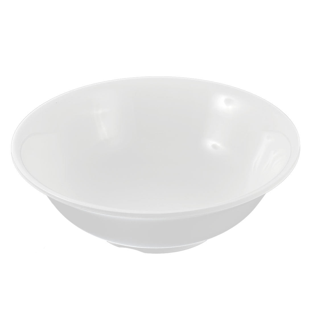 "Restaurant Plastic Lunch Dinner Fruit Rice Bowl Container White 7"" Dia"