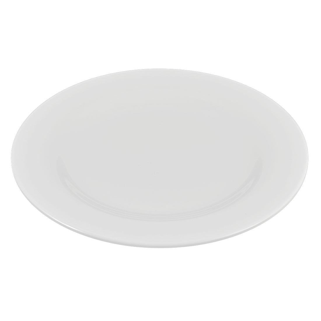 Restaurant Hotel Tableware Plastic Dessert Food Dish Plate Tray Container