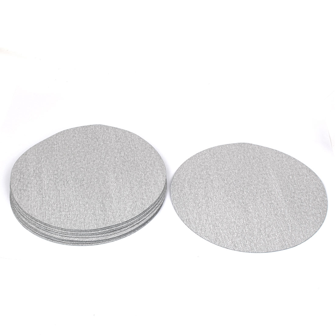 "7"" Dia Polishing Round Dry Abrasive Sanding Sandpaper Sheet Disc 1000 Grit 10 Pcs"