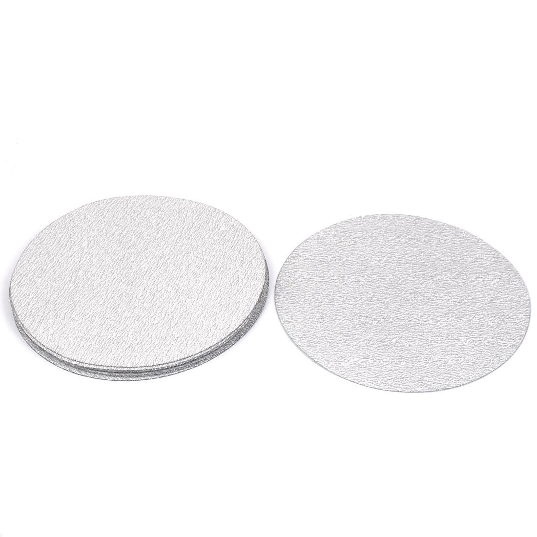 "7"" Dia Polishing Round Dry Abrasive Sanding Sandpaper Sheet Disc 240 Grit 10pcs"