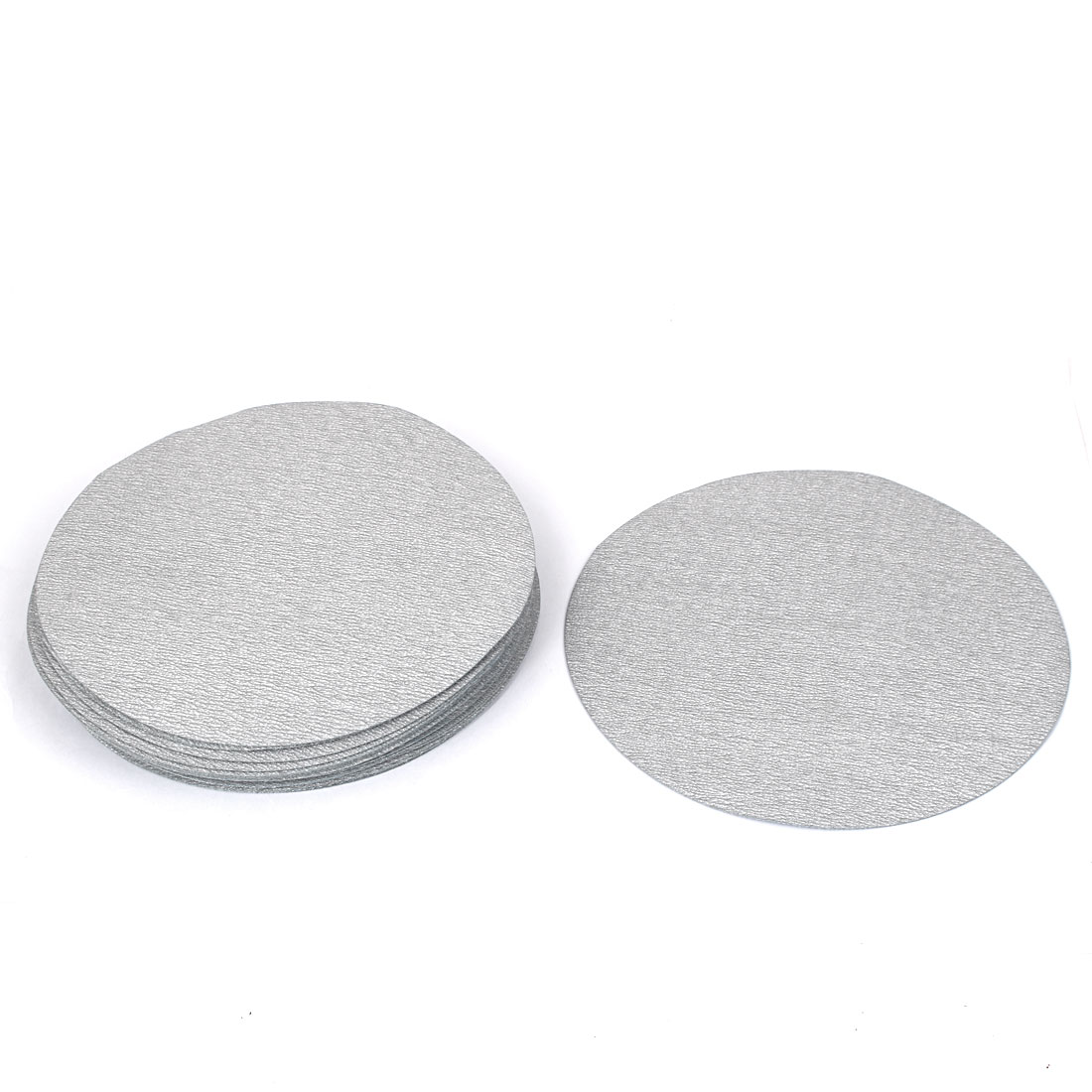 7inch Dia Round Dry Abrasive Sanding Flocking Sandpaper Disc 800 Grit 20pcs