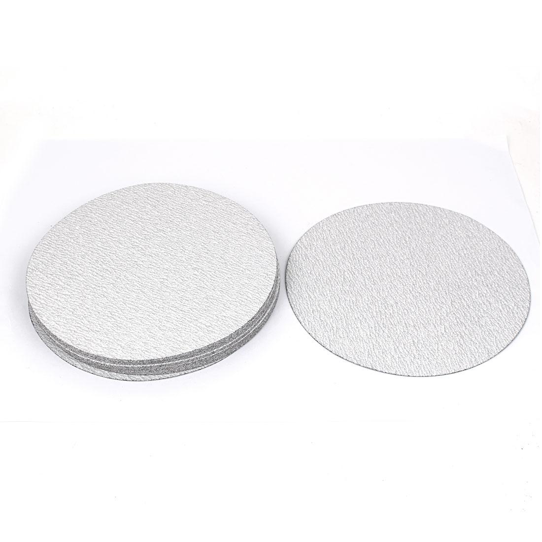 7inch Dia Round Dry Abrasive Sanding Flocking Sandpaper Disc 180 Grit 20pcs