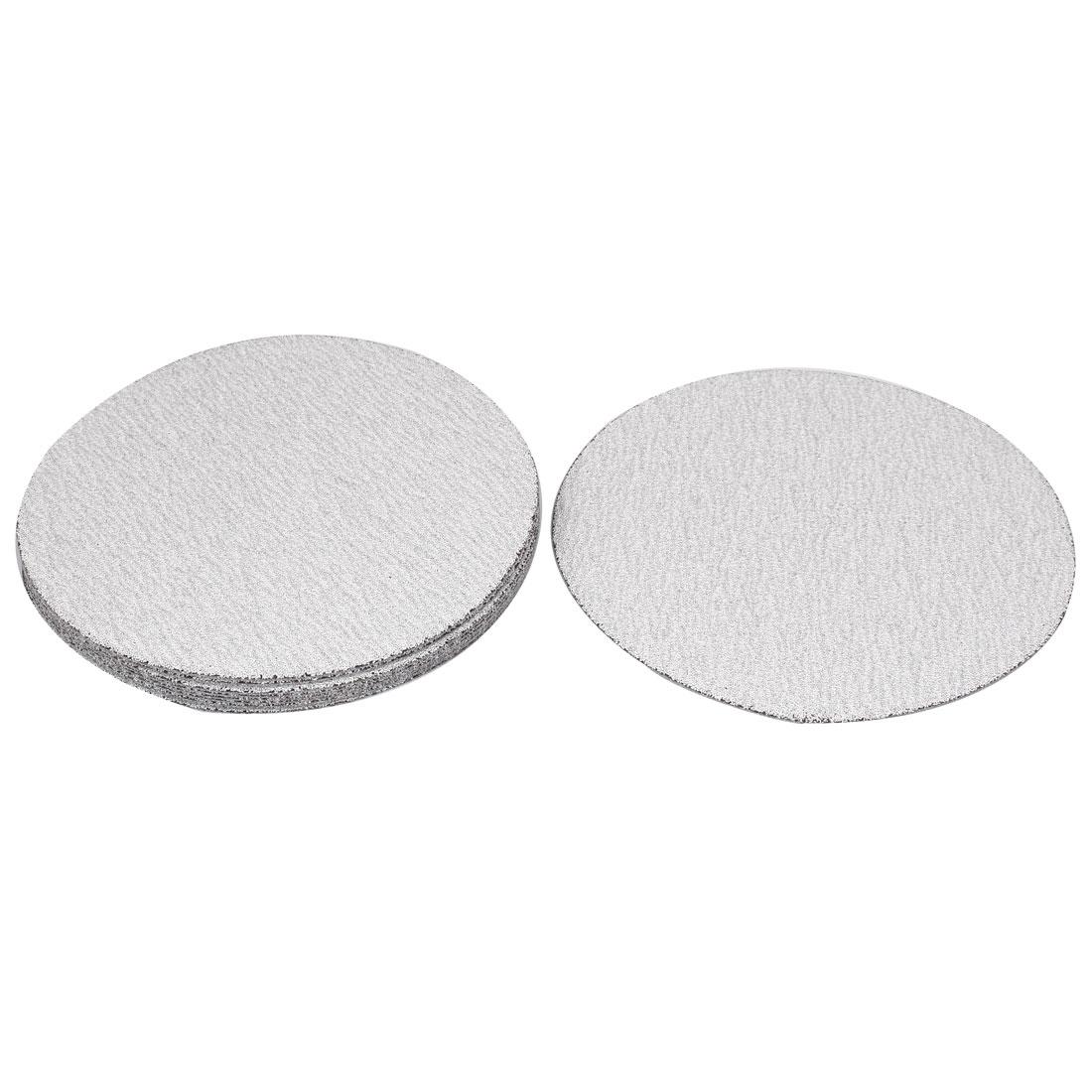 7inch Dia Round Dry Abrasive Sanding Flocking Sandpaper Disc 80 Grit 10pcs