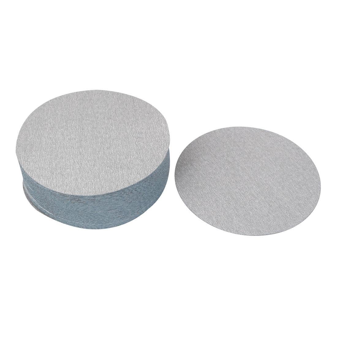 "6"" Dia Polishing Round Abrasive Sanding Sandpaper Sheet Disc 400 Grit 50 Pcs"