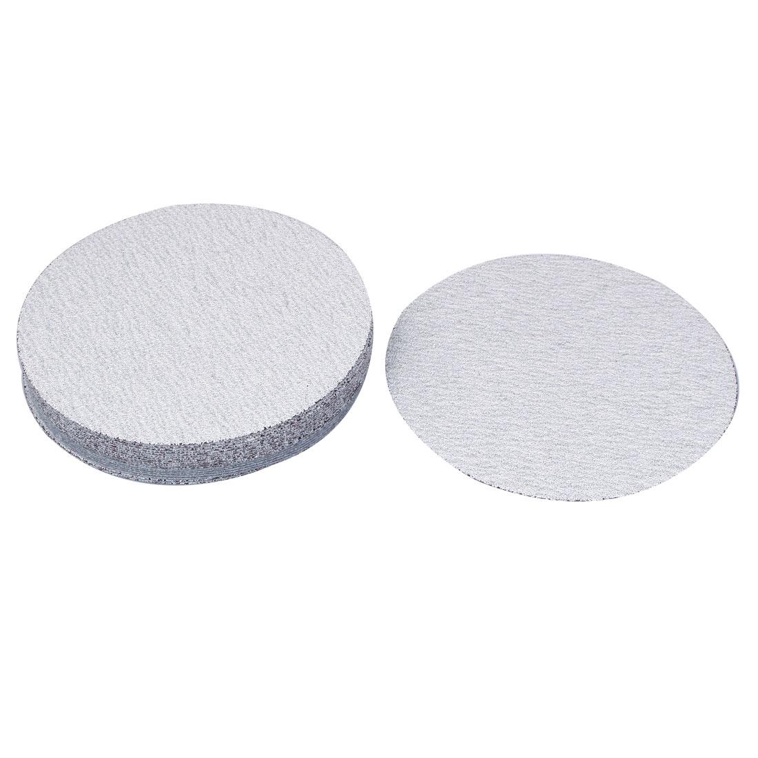 "6"" Dia Polishing Round Dry Abrasive Sanding Sandpaper Sheet Disc 80 Grit 20pcs"