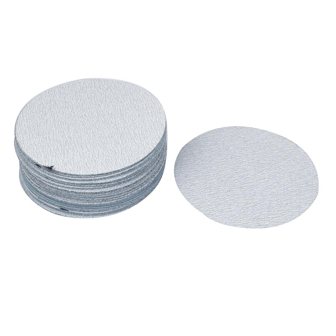 "6"" Dia Polishing Round Dry Abrasive Sanding Sandpaper Sheet Disc 180 Grit 50pcs"