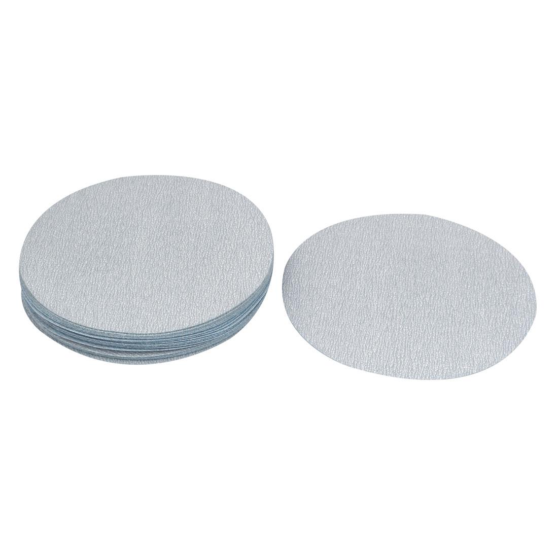 6inch Dia Round Dry Abrasive Sanding Flocking Sandpaper Sheet Disc 600 Grit 20 Pcs