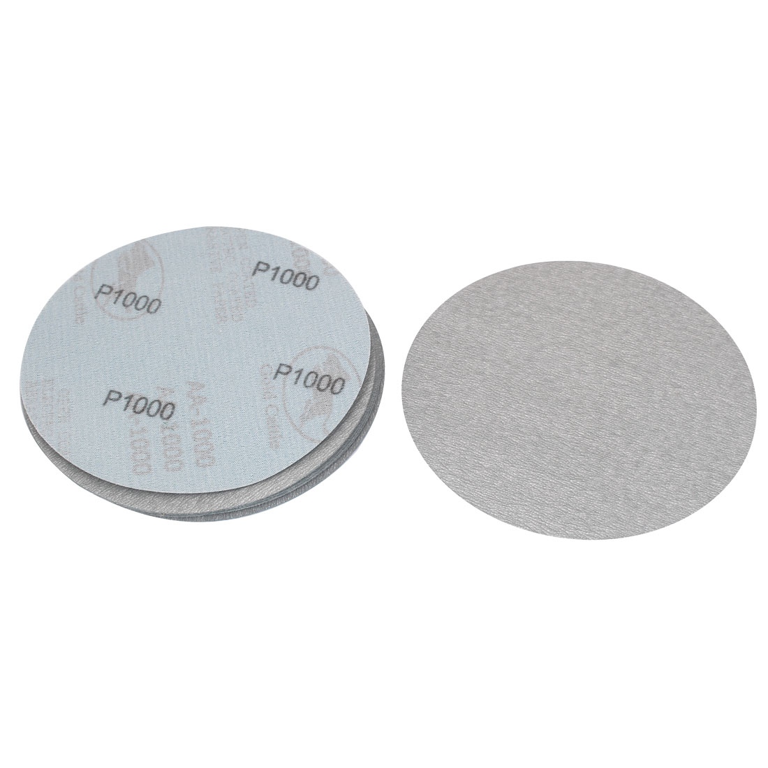 6inch Dia Round Dry Abrasive Sanding Flocking Sandpaper Sheet Disc 1000 Grit 10pcs