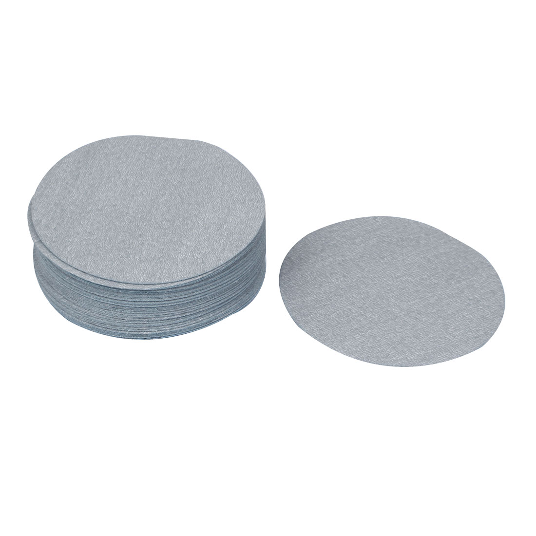 "6"" Dia Polishing Round Dry Abrasive Sanding Sandpaper Sheet Disc 1000 Grit 50pcs"