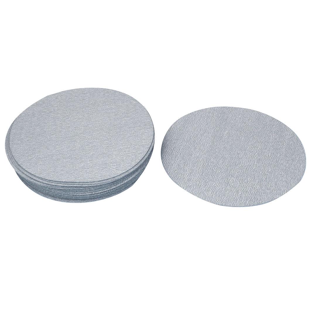 "6"" Dia Polishing Round Dry Abrasive Sanding Sandpaper Sheet Disc 800 Grit 20pcs"