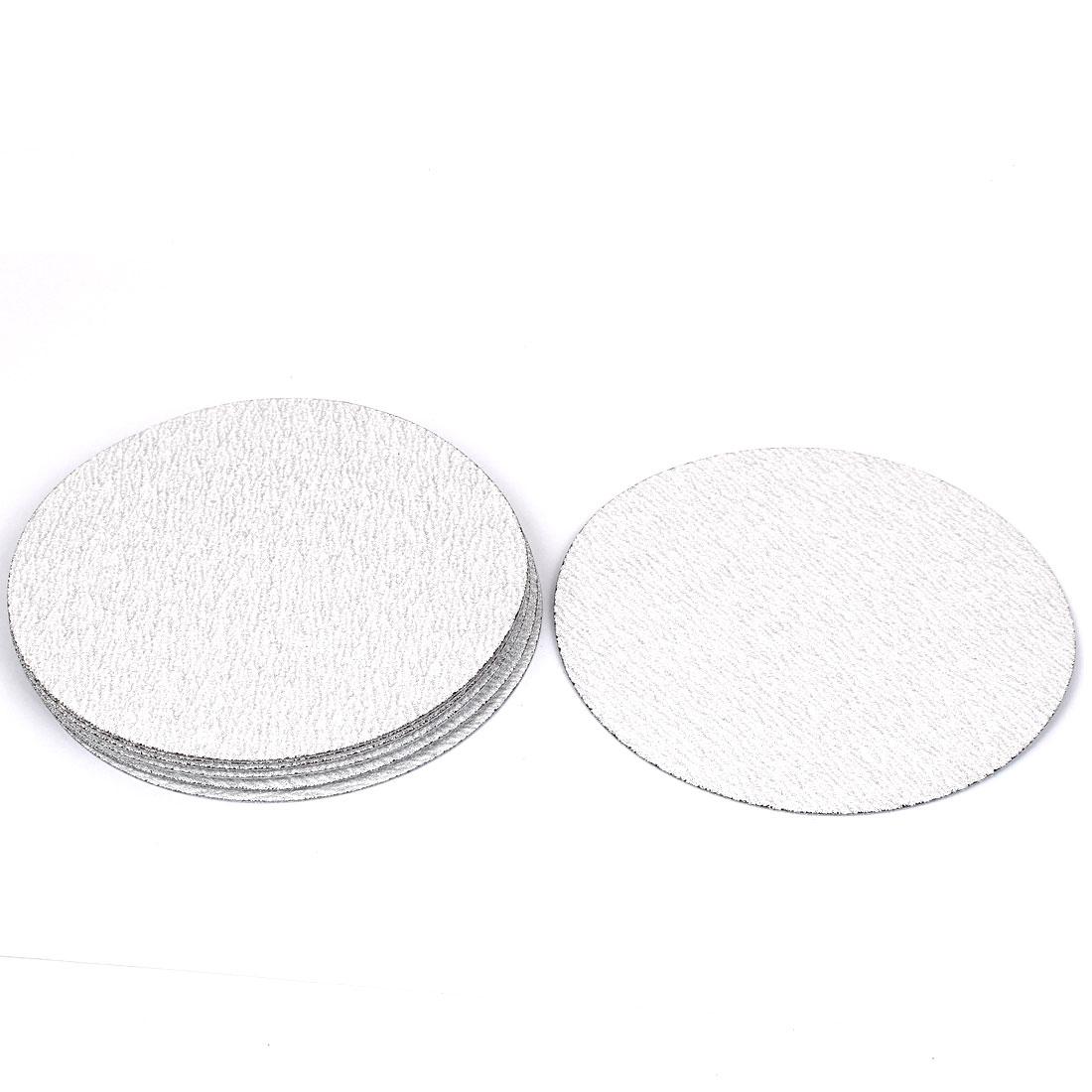 "6"" Dia Polishing Round Dry Abrasive Sanding Sandpaper Sheet Disc 180 Grit 10pcs"