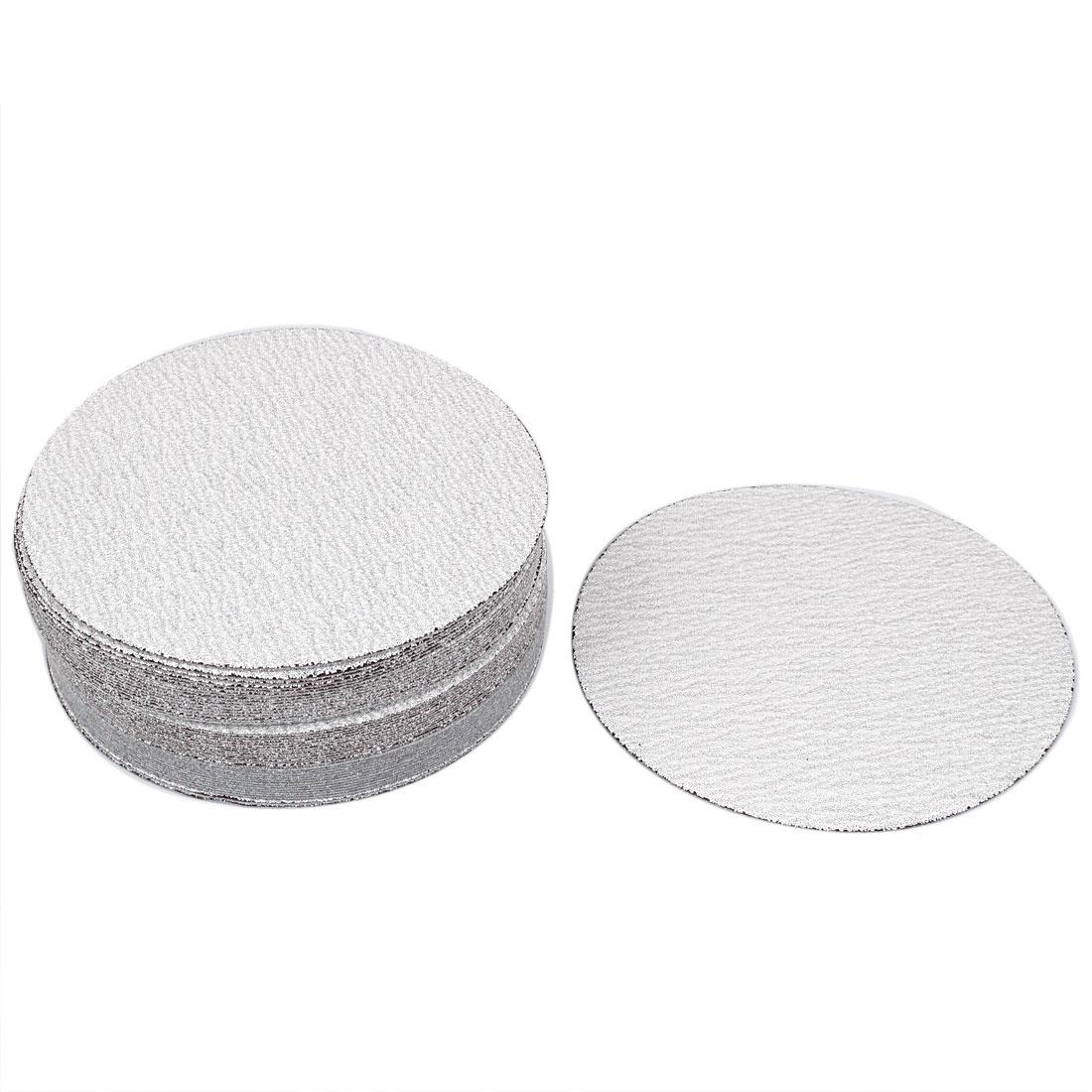 "6"" Dia Polishing Round Dry Abrasive Sanding Sandpaper Sheet Disc 120 Grit 50pcs"