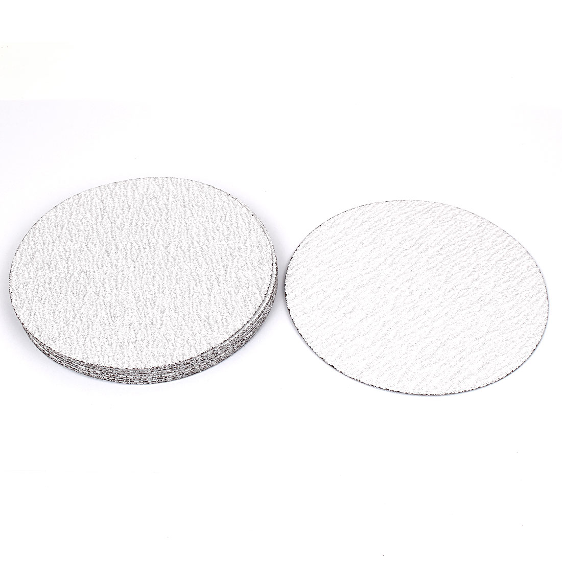"6"" Dia Polishing Round Dry Abrasive Sanding Sandpaper Sheet Disc 120 Grit 10 Pcs"