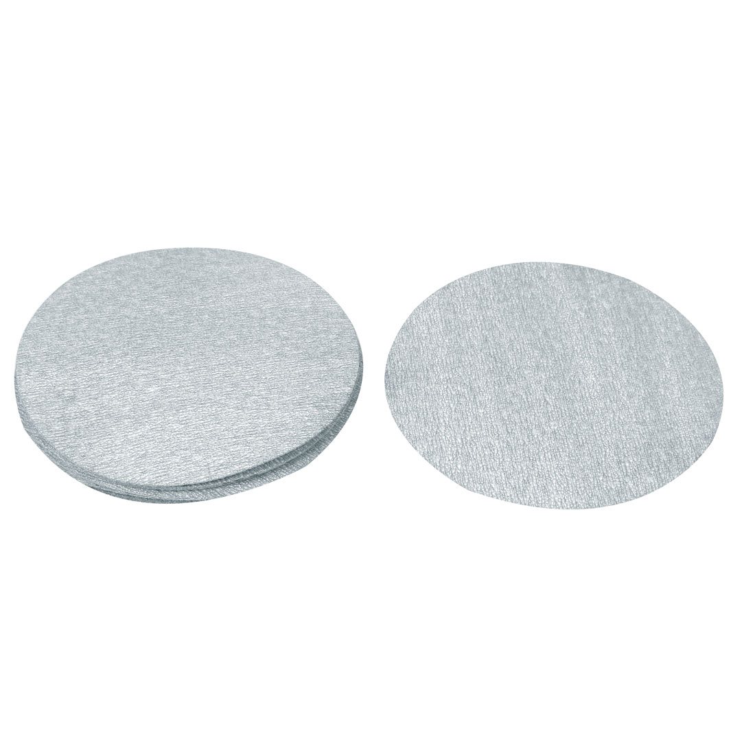 "5"" Dia Polishing Round Dry Abrasive Sanding Sandpaper Sheet Disc 1000 Grit 10pcs"