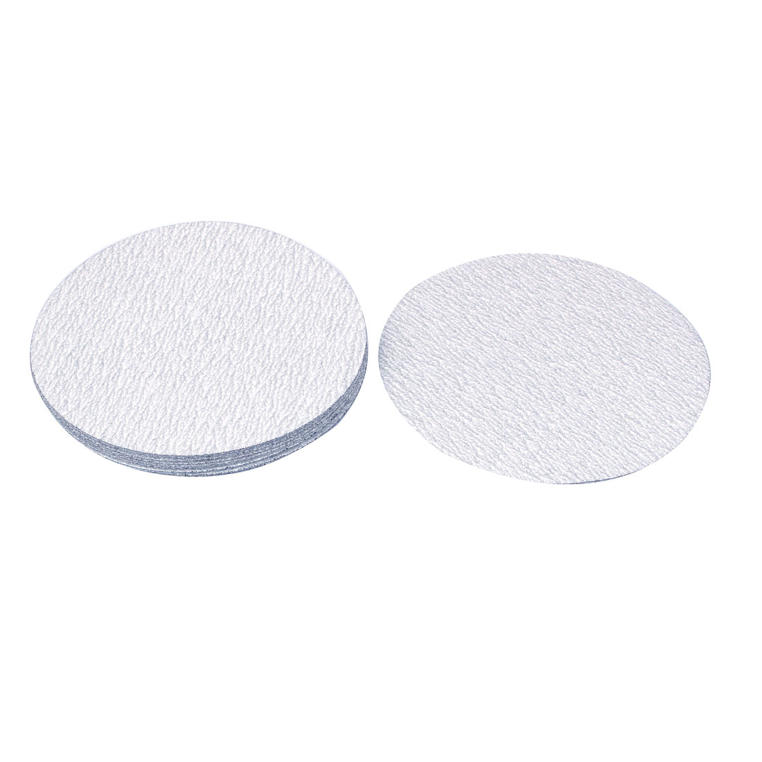 5inch Dia Dry Abrasive Sanding Flocking Sandpaper Sheet Disc 240 Grit 10 Pcs