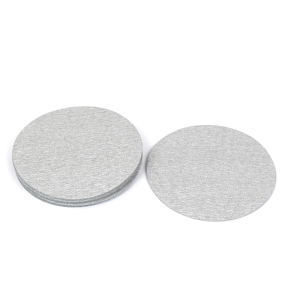 "4"" Dia Polishing Round Dry Abrasive Sanding Sandpaper Sheet Disc 600 Grit 10pcs"