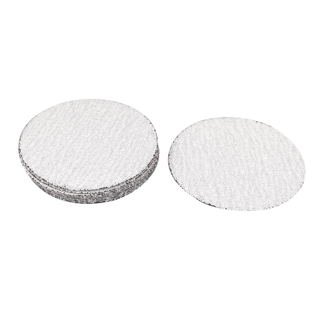 "4"" Dia Round Polishing Dry Abrasive Sanding Sandpaper Sheet Disc 60 Grit 10 Pcs"