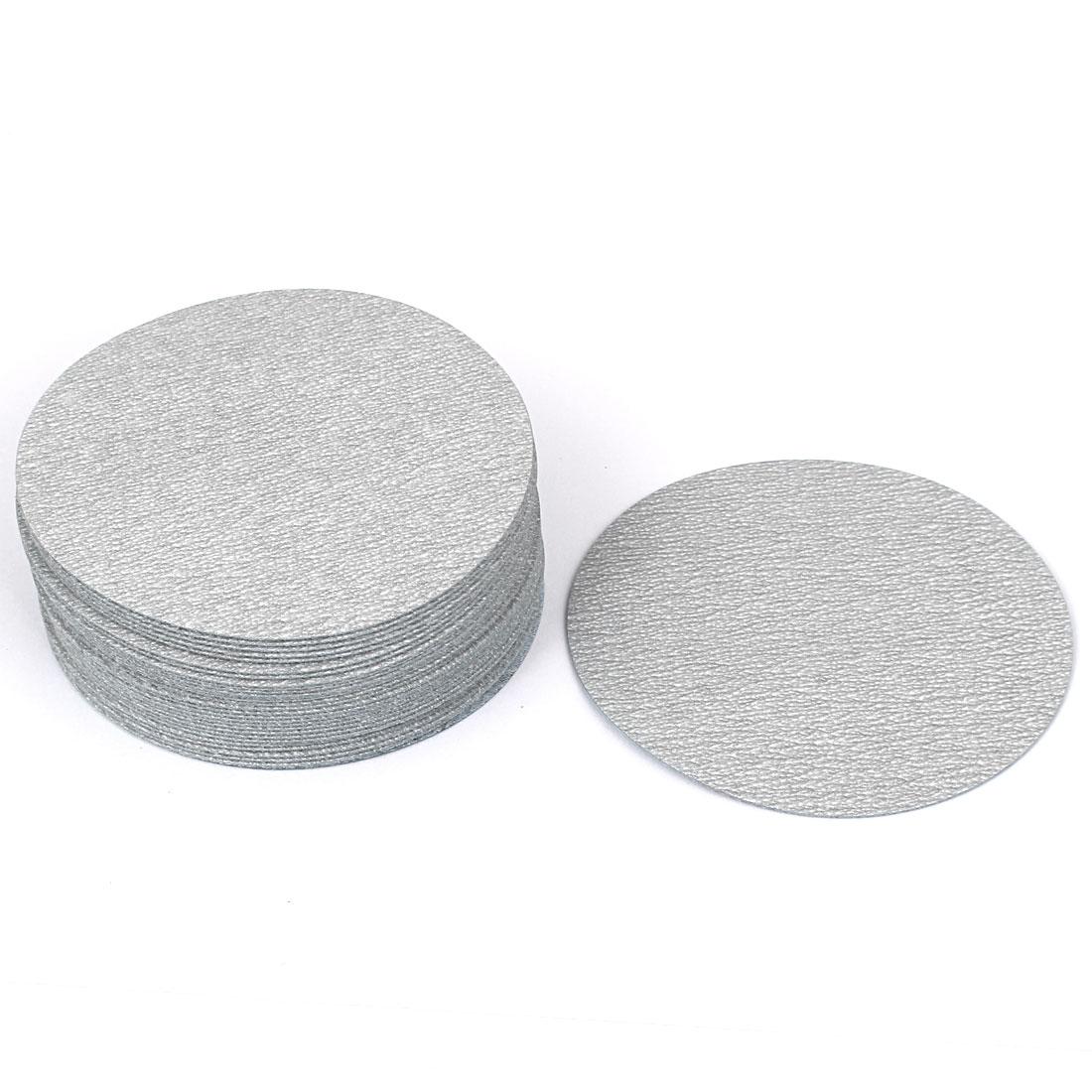 "4"" Dia Polishing Round Dry Abrasive Sanding Sandpaper Sheet Disc 600 Grit 30pcs"