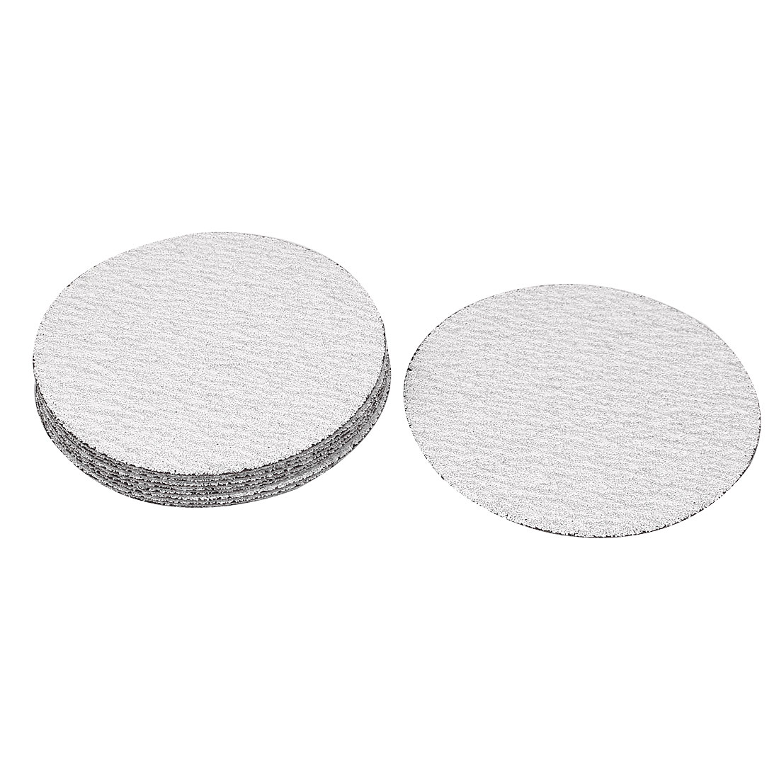 "4"" Dia Polishing Round Dry Abrasive Sanding Sandpaper Sheet Disc 120 Grit 10pcs"