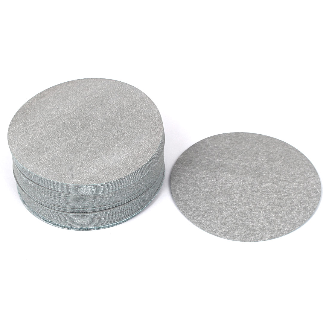 "4"" Dia Polishing Round Dry Abrasive Sanding Sandpaper Sheet Disc 800 Grit 50pcs"