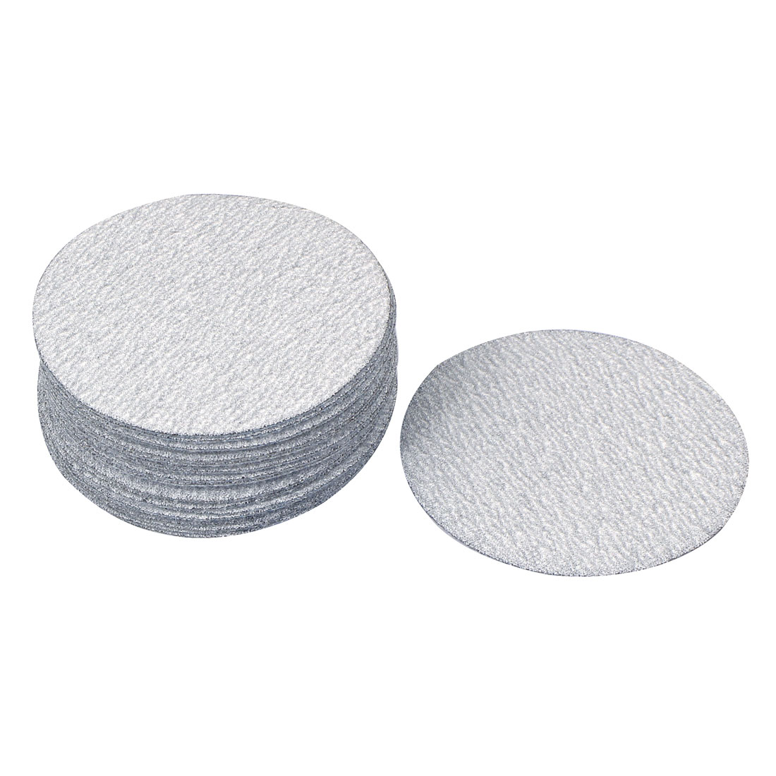 "3"" Dia Polishing Round Dry Abrasive Sanding Sandpaper Sheet Disc 240 Grit 30pcs"