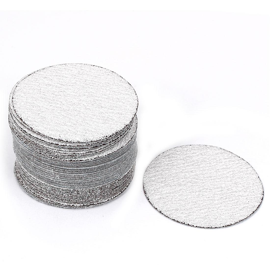 "3"" Dia Polishing Round Dry Abrasive Sanding Sandpaper Sheet Disc 120 Grit 50pcs"