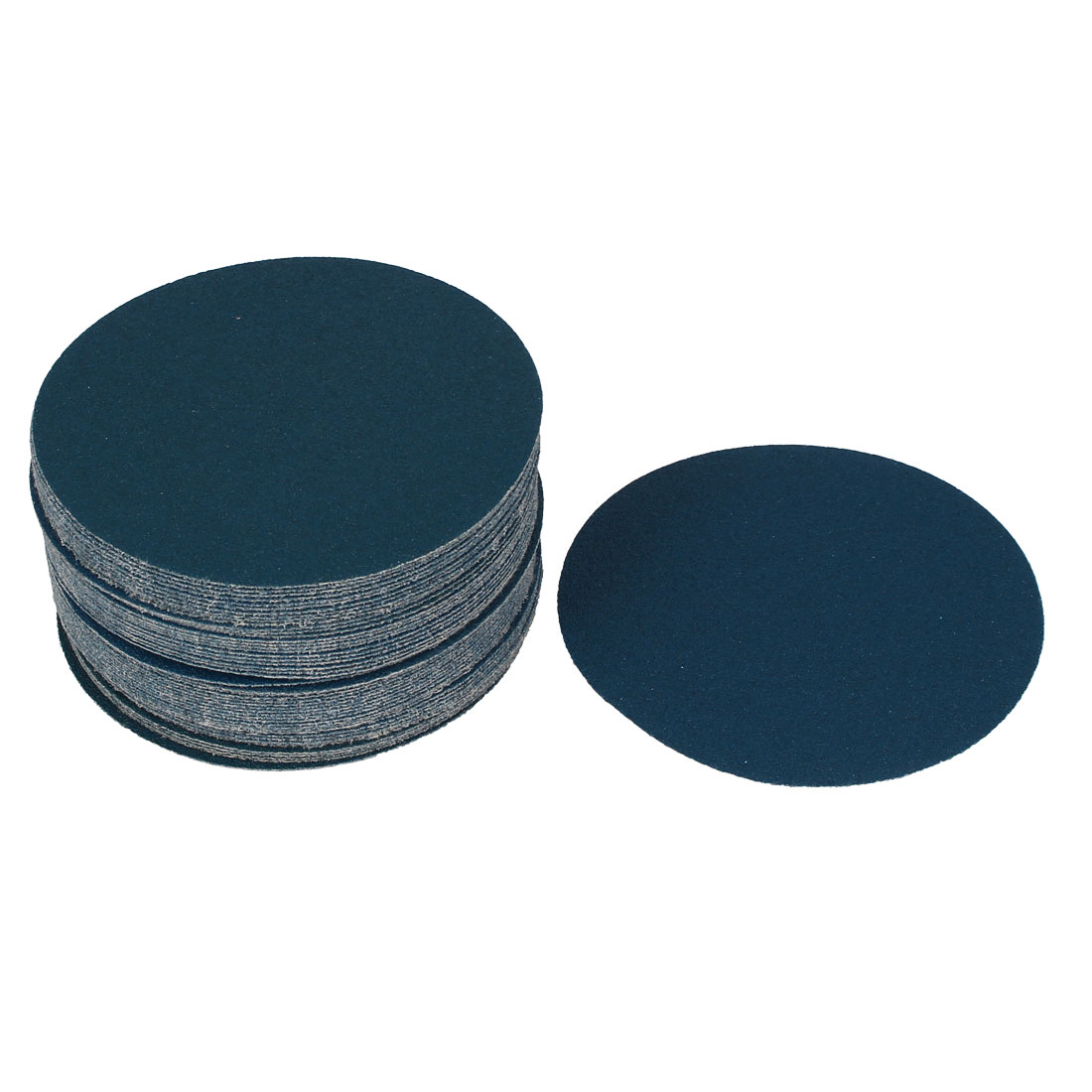 "5"" Sandpaper Auto Car Paint Polishing Sanding Disc Hook and Loop Fastener 80 Grit 50pcs"