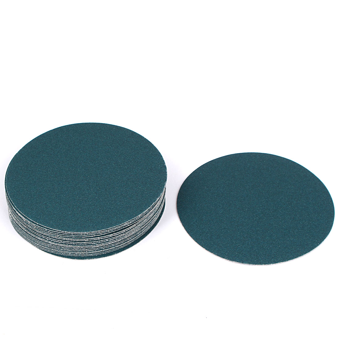 5inch Flocking Sandpaper Auto Car Paint Polishing Sanding Disc 180 Grit 20pcs