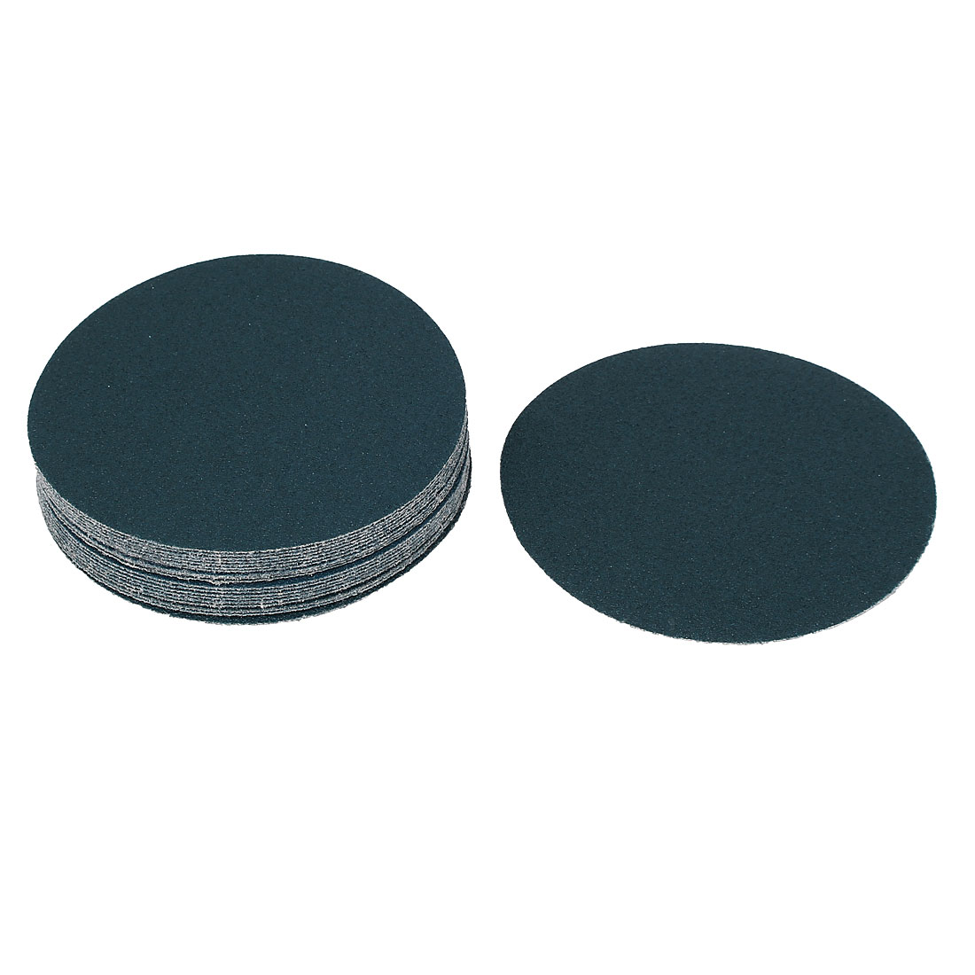 "5"" Sandpaper Auto Car Paint Polishing Sanding Disc Hook and Loop Fastener 80 Grit 20pcs"