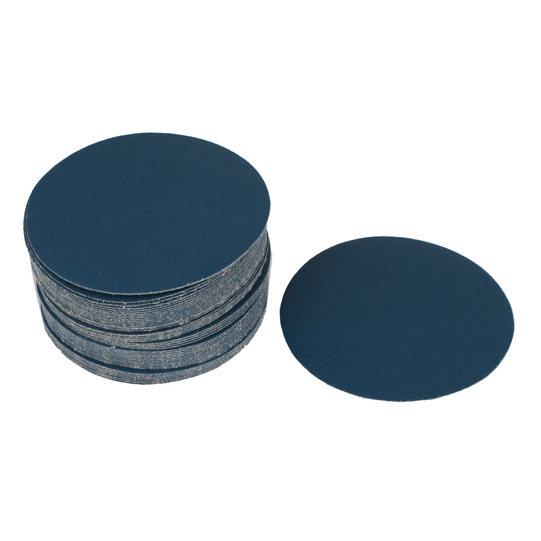 "5"" Sandpaper Auto Car Paint Polishing Sanding Disc Hook and Loop Fastener 100 Grit 50pcs"
