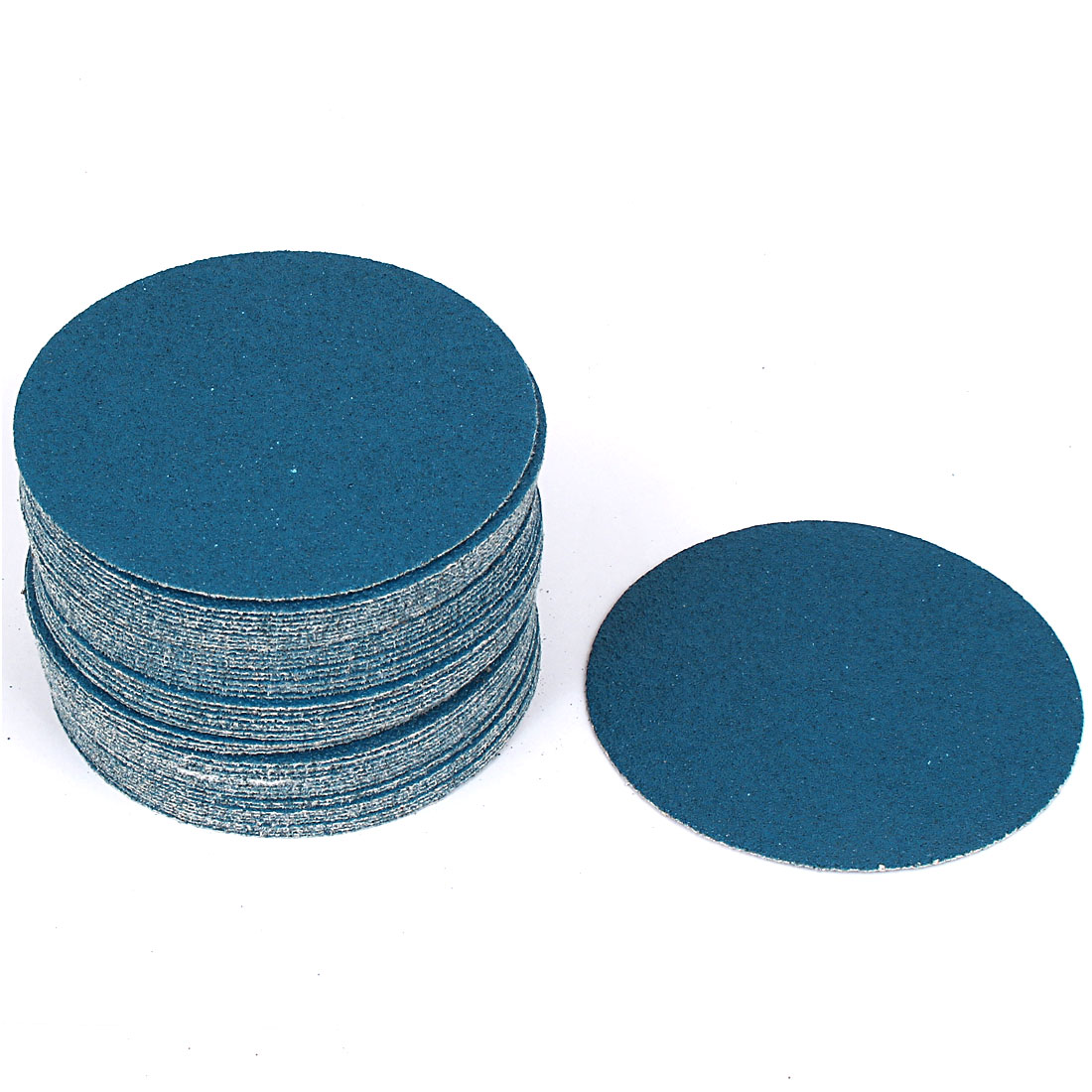 "5"" Sandpaper Auto Car Paint Polishing Sanding Disc Hook and Loop fastener 60 Grit 50pcs"