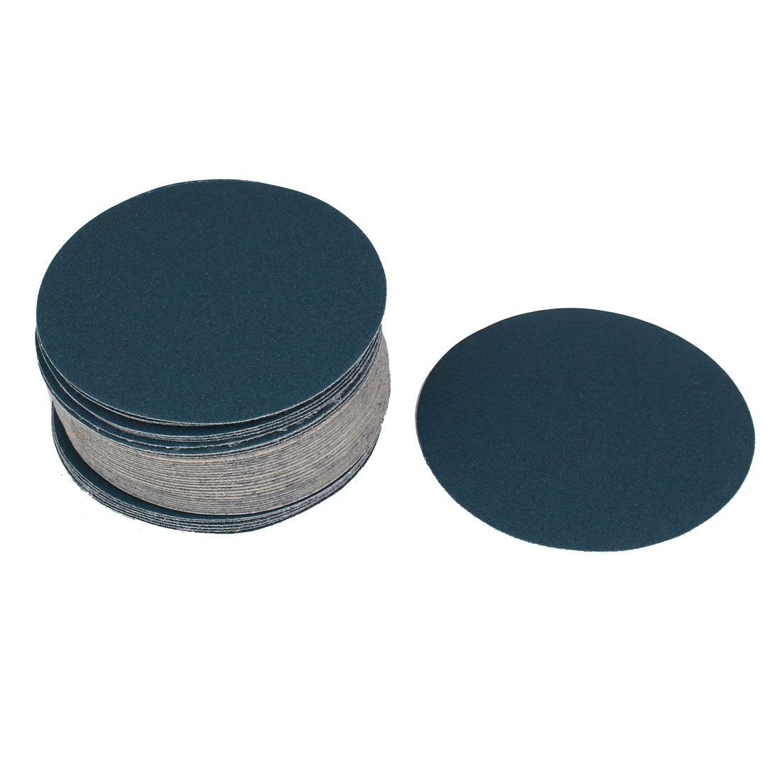 "5"" Sandpaper Auto Car Paint Polishing Sanding Disc Hook and Loop Fastener 180 Grit 50pcs"