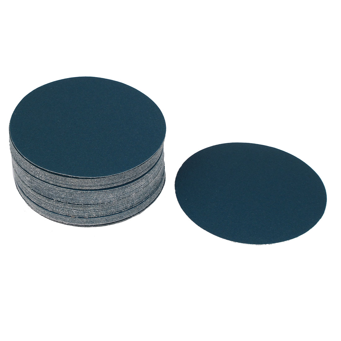 "5"" Sandpaper Auto Car Paint Polishing Sanding Disc Hook and Loop Fastener 150 Grit 50pcs"