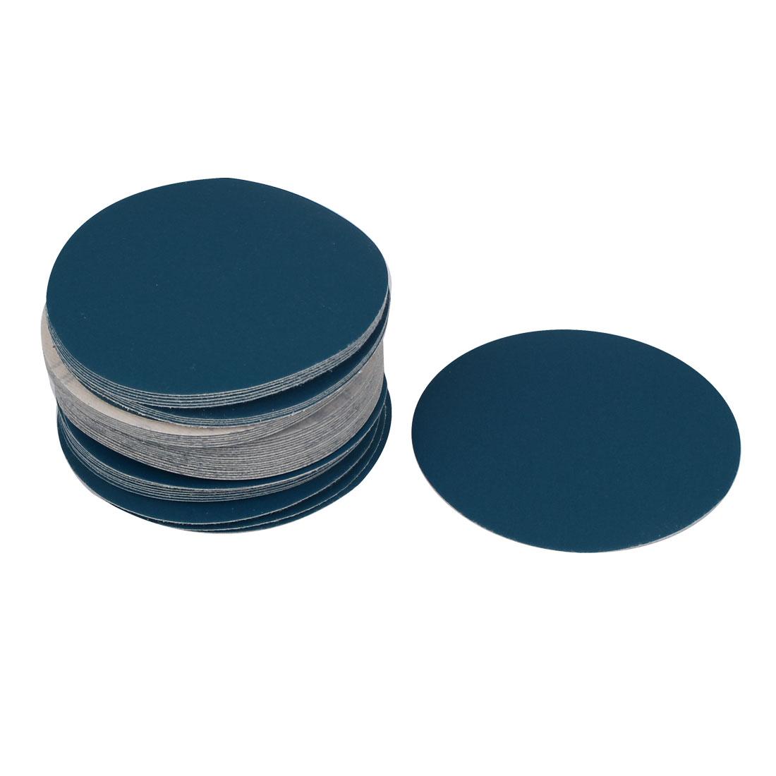5inch Flocking Sandpaper Auto Car Paint Polishing Sanding Disc 400 Grit 50pcs