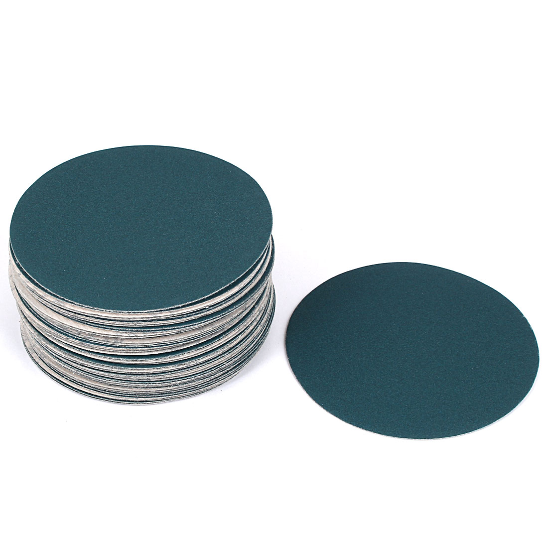 "5"" Sandpaper Auto Car Paint Polishing Sanding Disc Hook and Loop Fastener 240 Grit 50pcs"