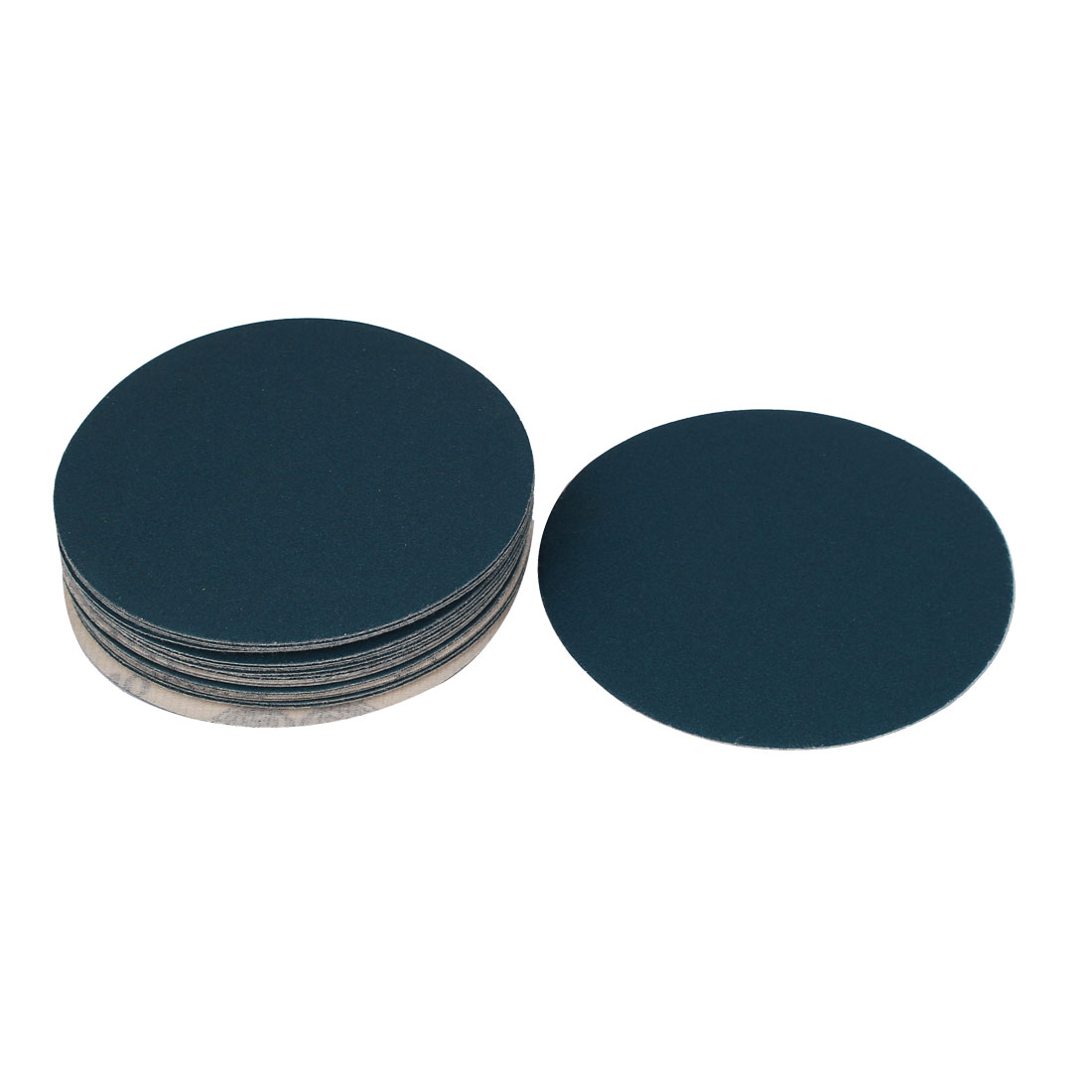 5inch Flocking Sandpaper Auto Car Paint Polishing Sanding Disc 240 Grit 20pcs