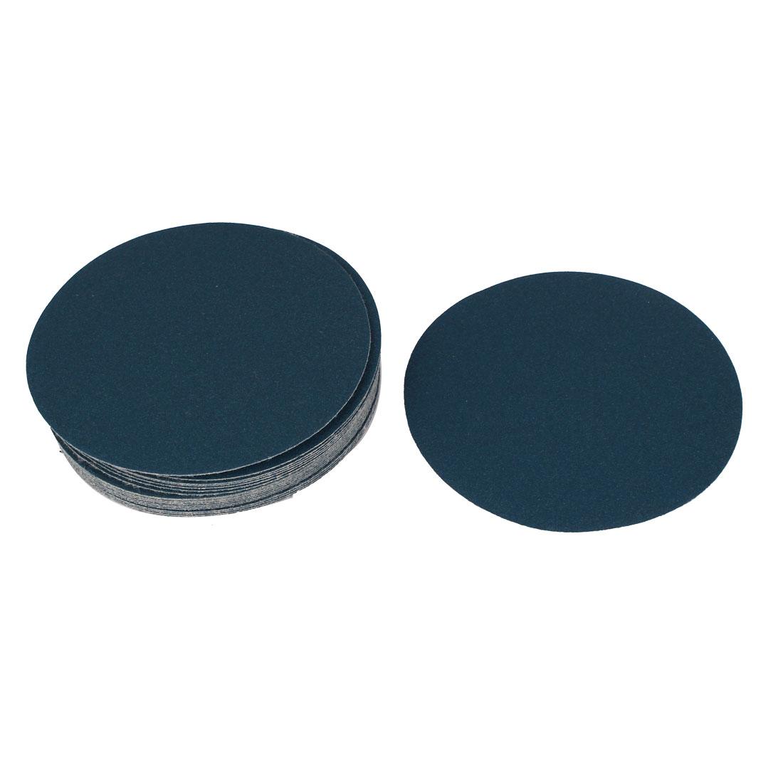 "5"" Dia Polishing Round Abrasive Sanding Sandpaper Sheet Disc 150 Grit 20 Pcs"
