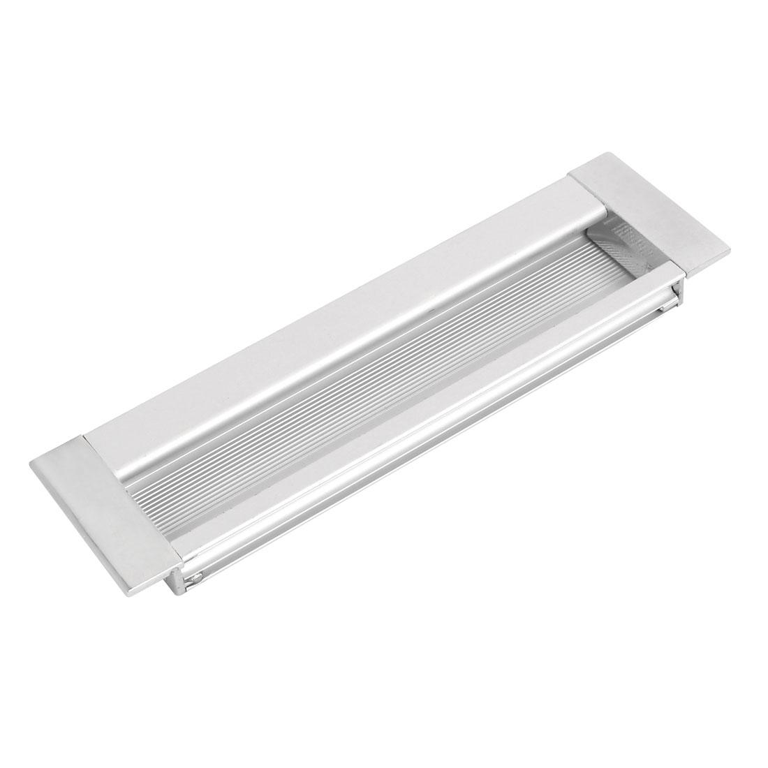 Rectangular Flush Pulls Drawer Cabinet Cupboard Sliding Door Handle