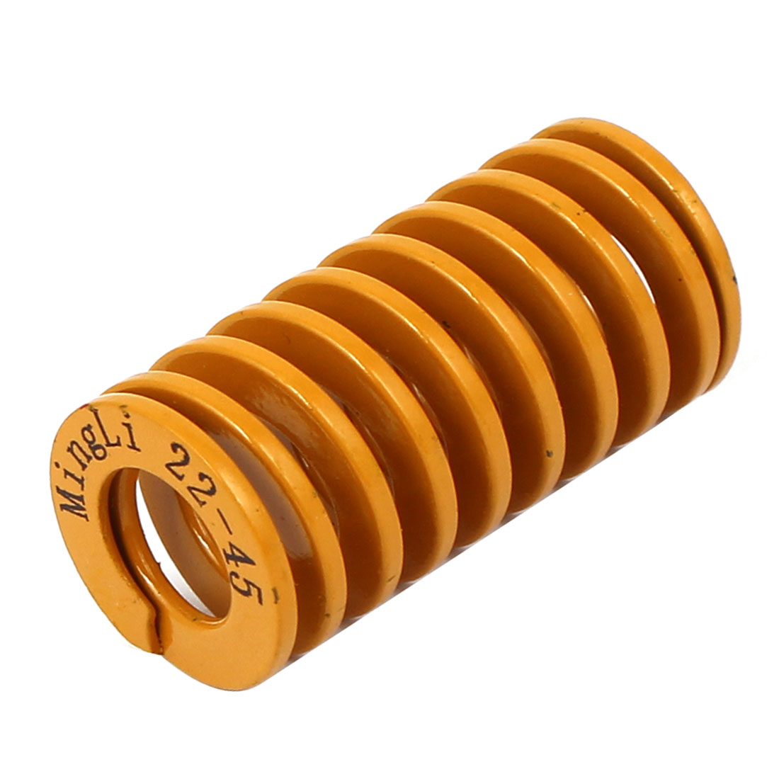 22mm x 45mm Tubular Section Mold Mould Die Spring Yellow