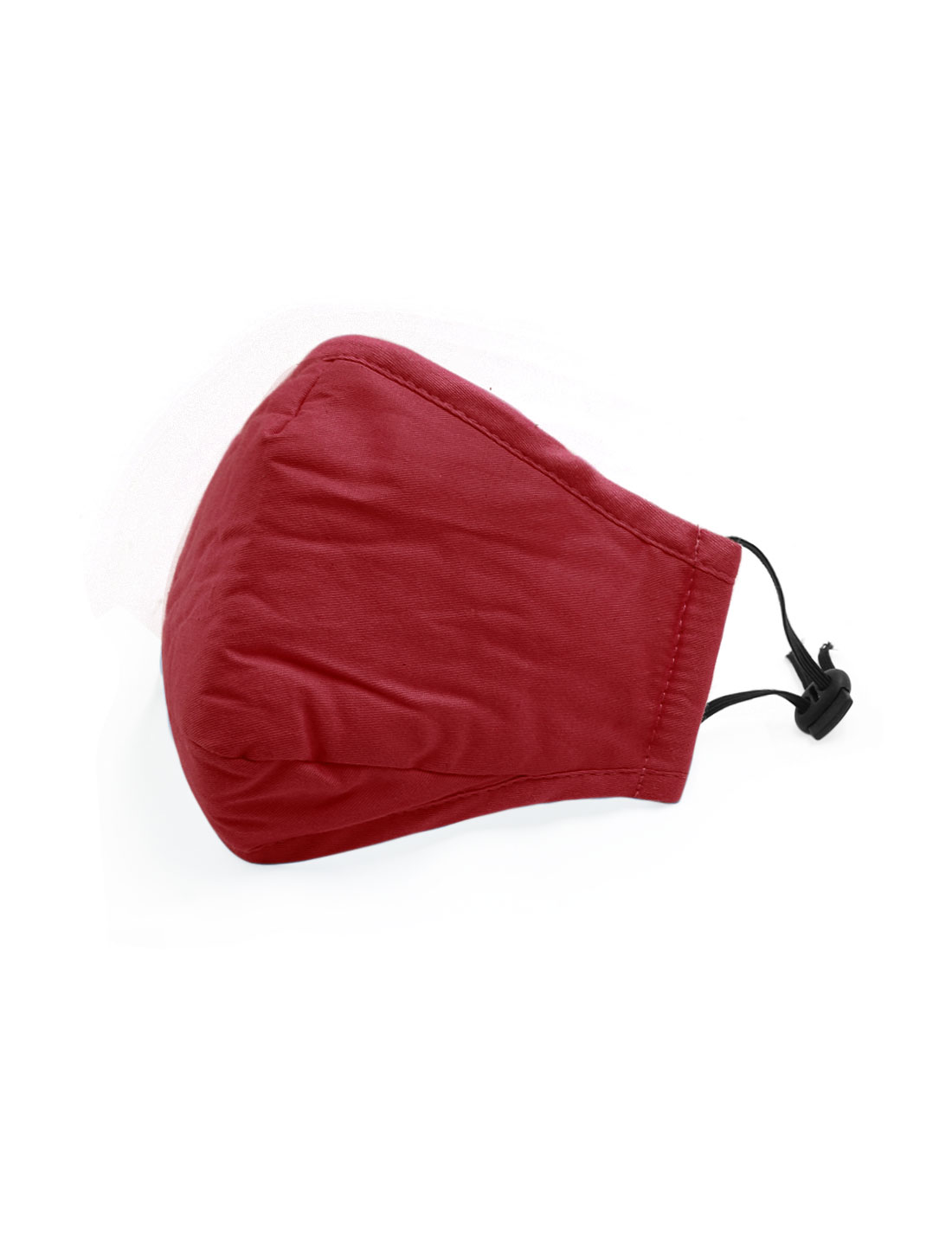 Unisex Anti-dust Face Mask w Activated Carbon Filter Red