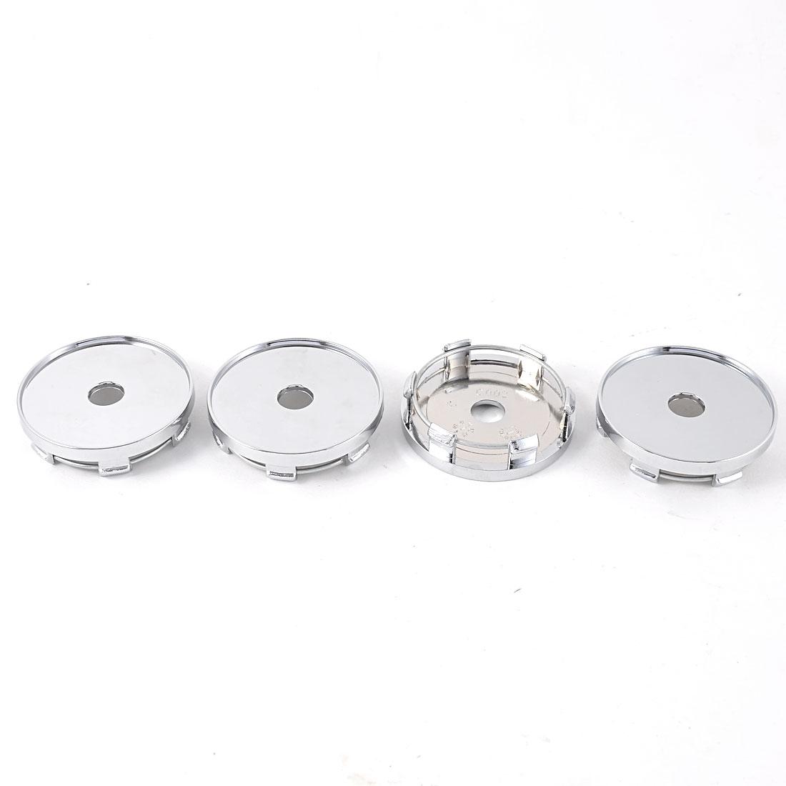 Universal Racing Car Automotive Wheel Center Hub Caps Covers 59mm Dia 4 Pcs