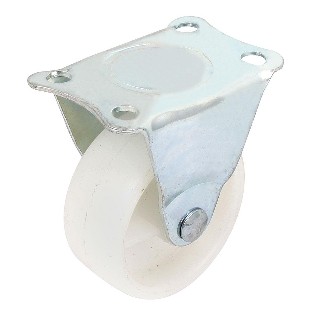 "2"" Swivel Casters Rubber Wheels Metal Top Plate Ball Bearings"